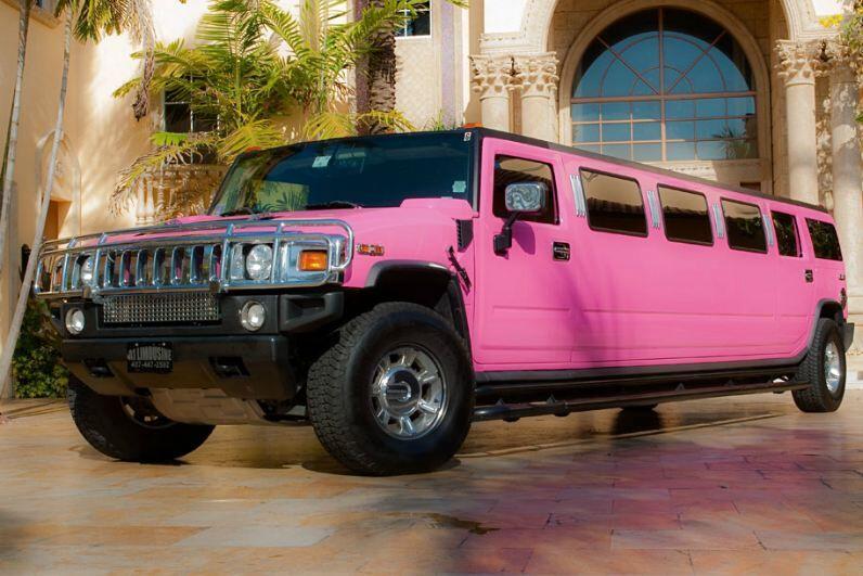 Pink Hummer Limo Orlando FL