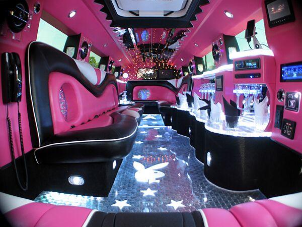 Pink Hummer Limousine Orlando