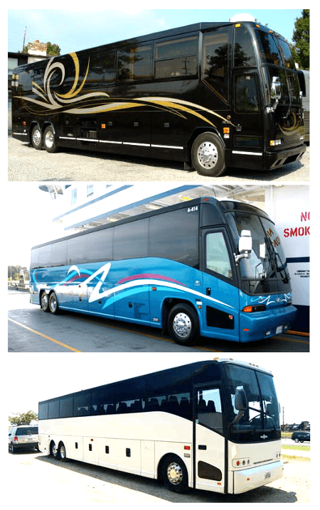Cheap Charter Bus Cocoa Beach FL