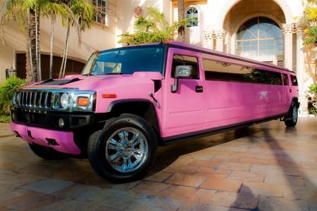 Pink Hummer H2 Limo Orlando