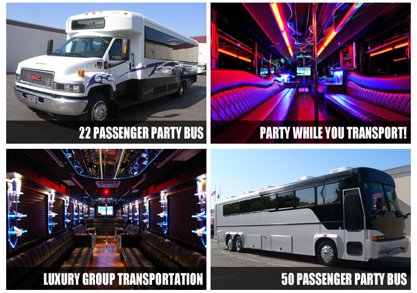 party bus rental Apopka Fl