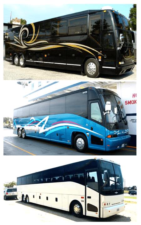 Cheap Charter Bus Kissimmee FL